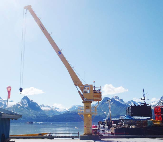 Telescopic Crane Marine : Telescopic cranes north pacific crane company