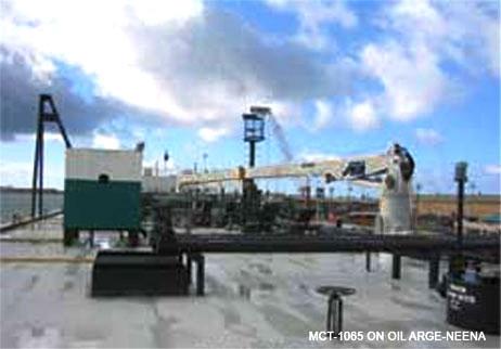 Tug & Barge Cranes - North Pacific Crane Company