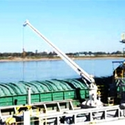 MCF 10 Ton on oil Barge