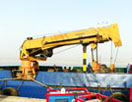 triple telescopic crane