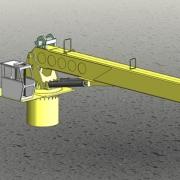 Marine Crane Fixed Boom 75ton