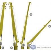Marine Crane Telescopic Boom  Crane