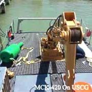 MCK 4 ton USCG Vessel